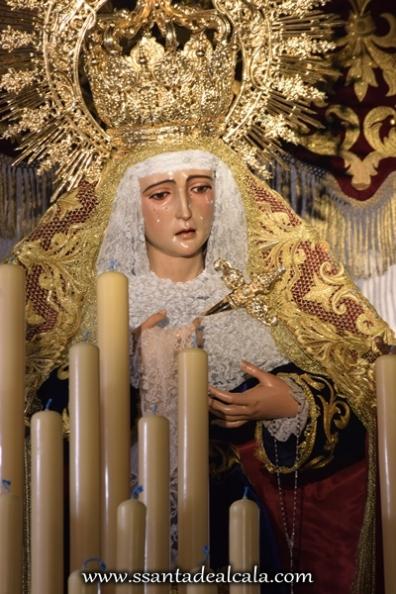 Virgen de la Amargura en su paso de palio 2016 (10)