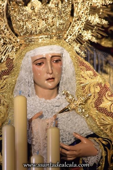 Virgen de la Amargura en su paso de palio 2016 (11)