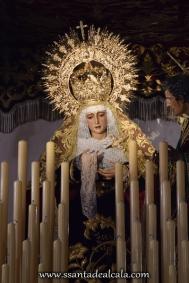 Virgen de la Amargura en su paso de palio 2016 (2)