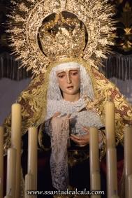 Virgen de la Amargura en su paso de palio 2016 (3)