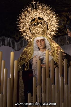 Virgen de la Amargura en su paso de palio 2016 (5)