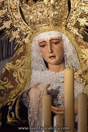 Virgen de la Amargura en su paso de palio 2016 (7)