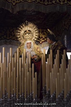 Virgen de la Amargura en su paso de palio 2016 (8)