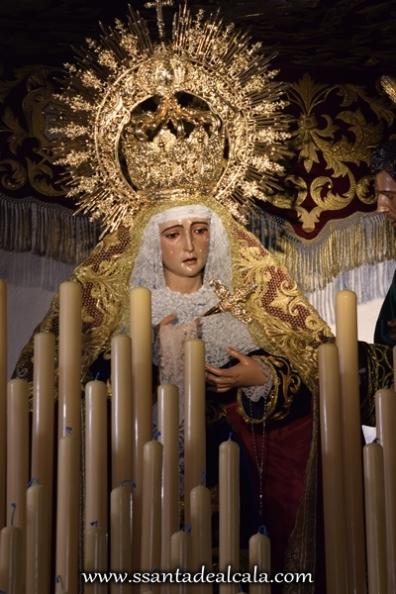 Virgen de la Amargura en su paso de palio 2016 (9)