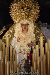 Virgen de la Esperanza en su paso de palio 2016 (1)