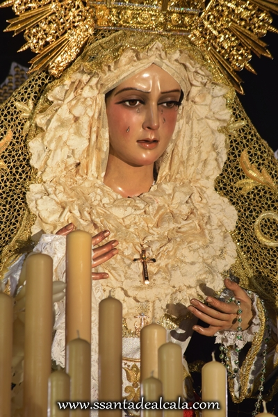 Virgen de la Esperanza en su paso de palio 2016 (10)