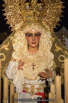 Virgen de la Esperanza en su paso de palio 2016 (2)