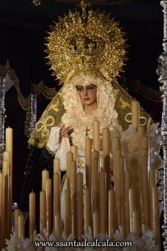 Virgen de la Esperanza en su paso de palio 2016 (4)