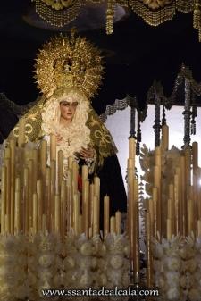 Virgen de la Esperanza en su paso de palio 2016 (8)