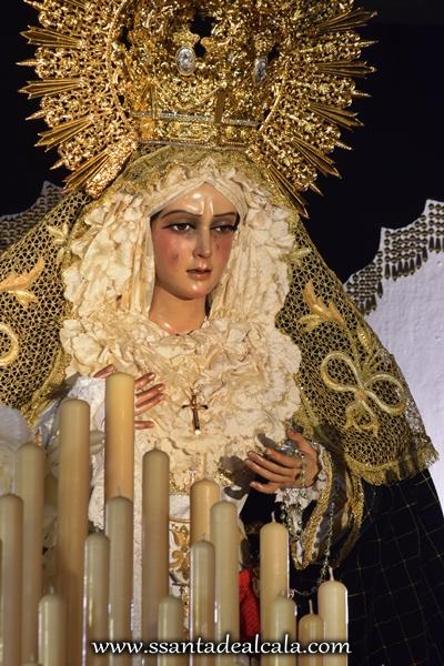 Virgen de la Esperanza en su paso de palio 2016 (9)
