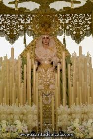 Virgen de la Oliva en su paso de palio 2016 (1)