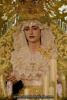 Virgen de la Oliva en su paso de palio 2016 (10)
