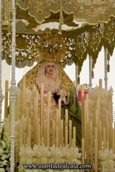 Virgen de la Oliva en su paso de palio 2016 (11)