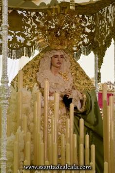 Virgen de la Oliva en su paso de palio 2016 (12)