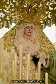 Virgen de la Oliva en su paso de palio 2016 (13)