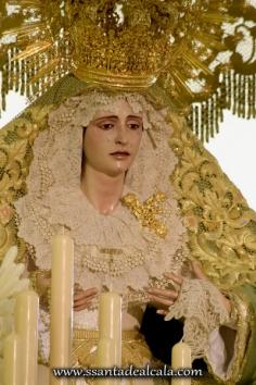 Virgen de la Oliva en su paso de palio 2016 (14)
