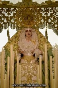 Virgen de la Oliva en su paso de palio 2016 (2)