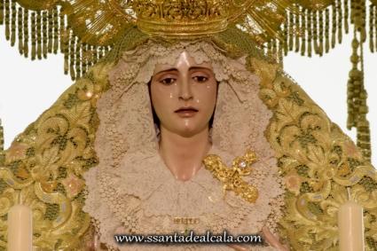 Virgen de la Oliva en su paso de palio 2016 (3)