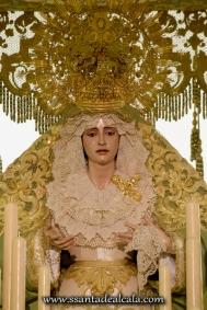 Virgen de la Oliva en su paso de palio 2016 (4)