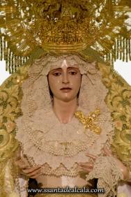 Virgen de la Oliva en su paso de palio 2016 (5)