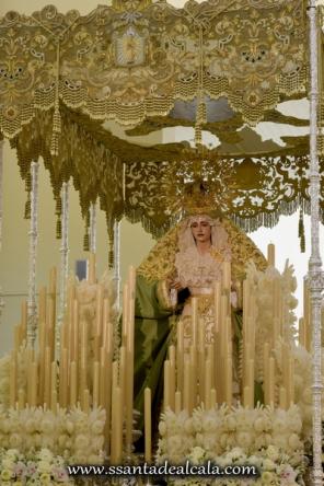 Virgen de la Oliva en su paso de palio 2016 (6)