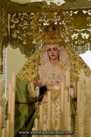 Virgen de la Oliva en su paso de palio 2016 (8)