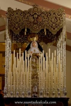 Virgen de las Angustias en su paso de palio 2016 (1)