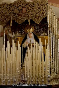 Virgen de las Angustias en su paso de palio 2016 (5)