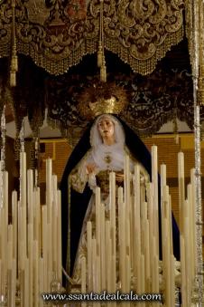 Virgen de las Angustias en su paso de palio 2016 (6)