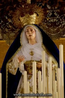Virgen de las Angustias en su paso de palio 2016 (7)