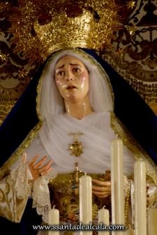 Virgen de las Angustias en su paso de palio 2016 (8)