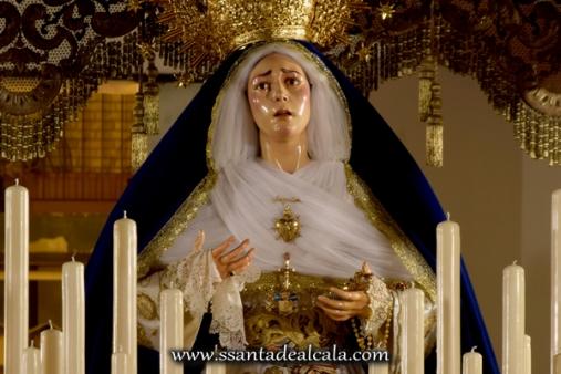 Virgen de las Angustias en su paso de palio 2016 (9)