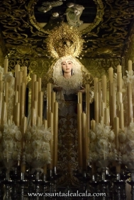 Virgen del Rosario en su paso de palio 2016 (1)