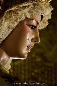 Virgen del Rosario en su paso de palio 2016 (10)