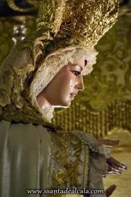 Virgen del Rosario en su paso de palio 2016 (11)