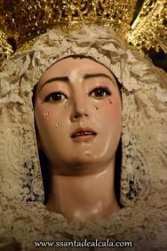 Virgen del Rosario en su paso de palio 2016 (12)