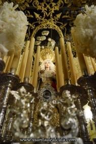 Virgen del Rosario en su paso de palio 2016 (3)