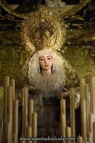 Virgen del Rosario en su paso de palio 2016 (4)