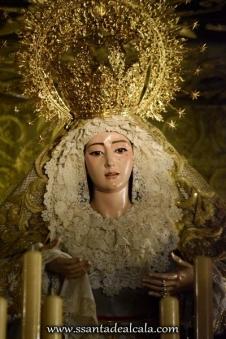 Virgen del Rosario en su paso de palio 2016 (5)