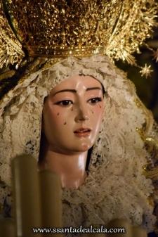 Virgen del Rosario en su paso de palio 2016 (8)