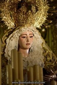 Virgen del Rosario en su paso de palio 2016 (9)