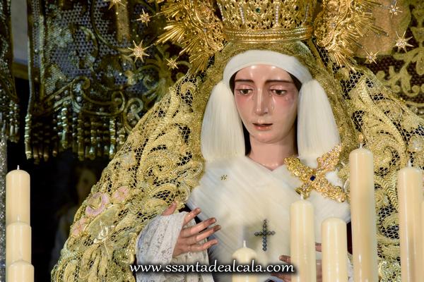 Virgen del Socorro en su paso de palio 2016 (10)