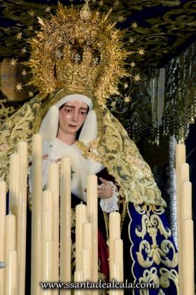 Virgen del Socorro en su paso de palio 2016 (11)