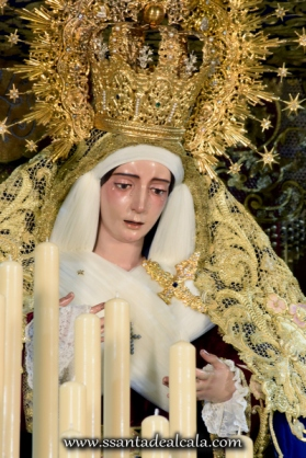 Virgen del Socorro en su paso de palio 2016 (12)