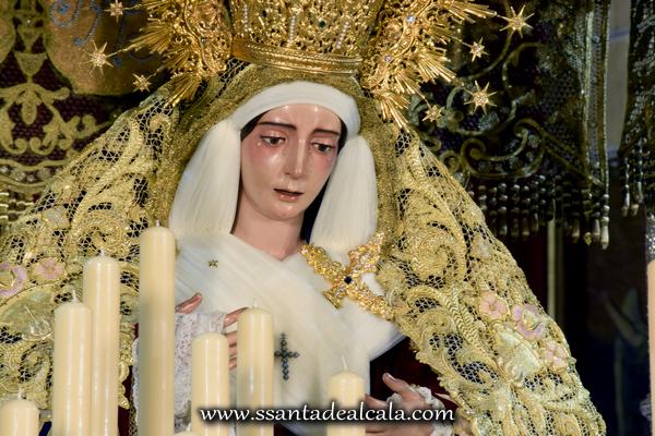 Virgen del Socorro en su paso de palio 2016 (13)