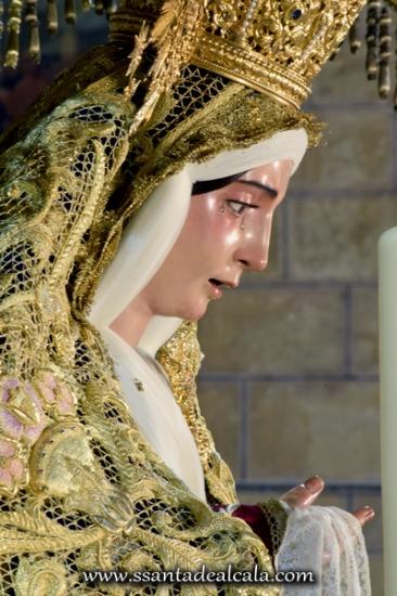 Virgen del Socorro en su paso de palio 2016 (14)