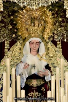 Virgen del Socorro en su paso de palio 2016 (3)