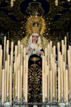 Virgen del Socorro en su paso de palio 2016 (4)
