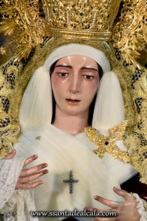 Virgen del Socorro en su paso de palio 2016 (7)