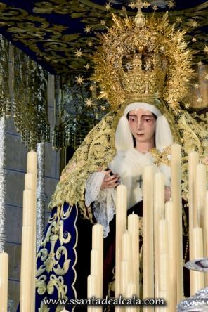Virgen del Socorro en su paso de palio 2016 (8)